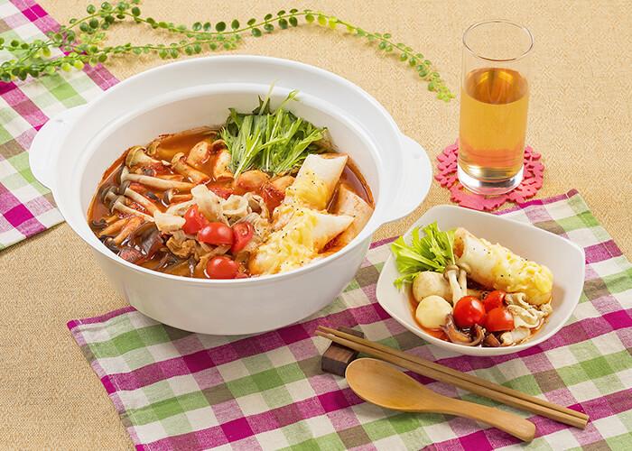 味噌・チー・とまと きりたんぽ鍋