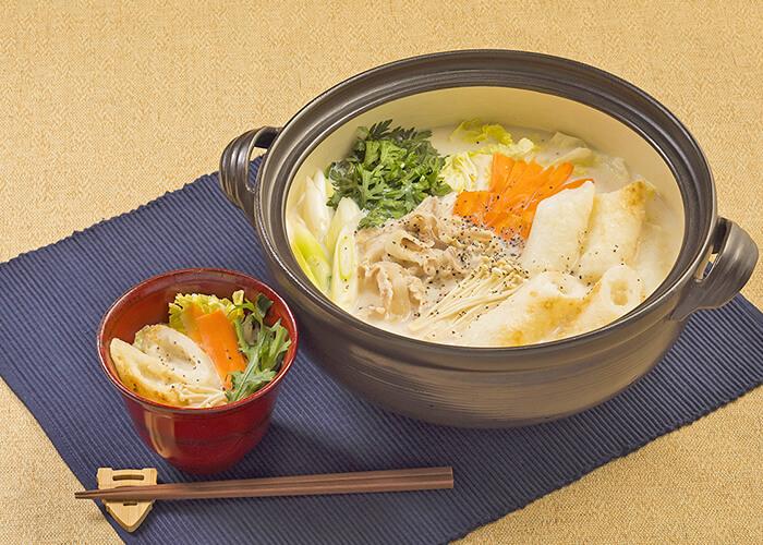 きりたんぽ★MISO チーズ鍋